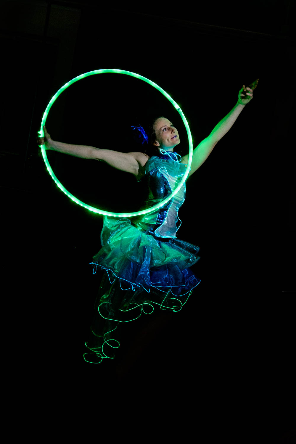 Glowing Circus Performers